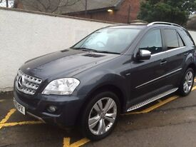 Clean ML350 CDi Blue EFFICIENCY Mercedes SUV for Sale, Great car, very smooth and powerful drive