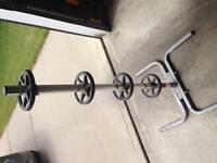 Tire rack stand