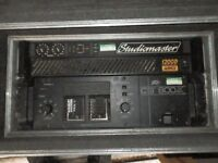 power amp for sale studiomaster 1200d