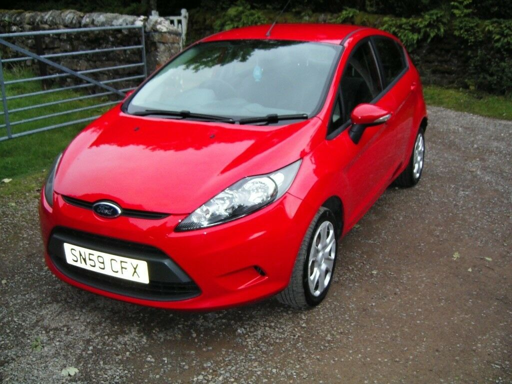 FORD FIESTA 1.4 TDCI EDGE 2009 DIESEL 59 PLATE ONLY 1 FORMER OWNER