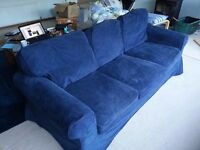 Ikea Blue 3 seat Sofa