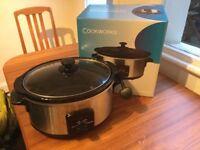 Cookworks Slow Cooker 5.5L capacity