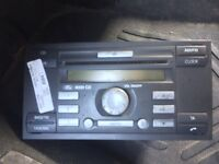 Ford 6000cd car audio in working order with code
