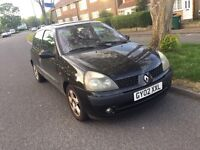 Renault Clio dynamique16V for sale, only 3 former owners, MOT, drives good.