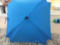 Silver cross parasol