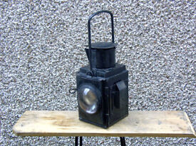 Old Paraffin Train Lamp