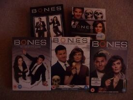 DVD Box sets for Sale - TV Series Bones, House and Lost plus Layer Cake