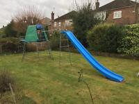 Climbing frame and Swing