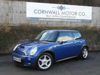 MINI HATCH COOPER 1.6 COOPER S 3d 168 BHP FSH + NEW MOT AND SERVICE (blue) 2004