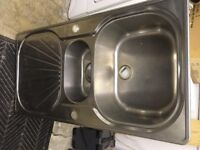Double Steel Kitchen Sink