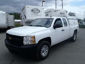 2013 Chevrolet Silverado 1500 Ext. Cab 4WD with Canopy & Roofrac