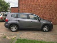 Chevrolet Orlando 7 Seater Automatic 41K miles PCO registered