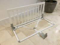 Baby Dan White Bed Guard bars (John Lewis) Good condition