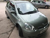 Toyota yaris spirit auto low mileage 56,000