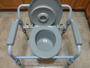 Folding commode Brand New