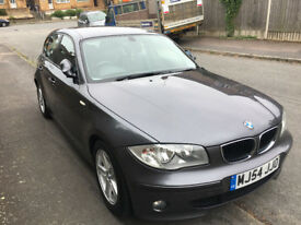 BMW 1 Series 120d - Full leather interior, excellent condition - MOT to July 2019