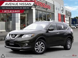 2015 Nissan Rogue SL AWD | LEATHER | NAVIGATION | PANO ROOF |