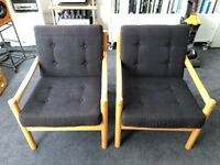 Two 1978 Ercol chairs £120