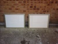 Pair of picture frames £20 the pair