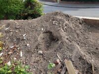 Free top soil, help yourself