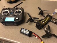 £500 racing drone set new.swap for dji phantom