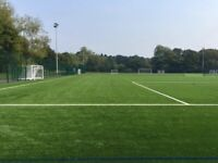 Casual footbal games at Lordswood Girls' School in Harborne