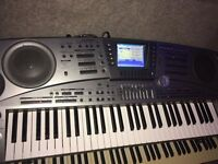 Casio MZ 2000 arranger keyboard