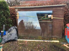 Large pane of glass. Laminated Double glazed, 2000mmx1700mm