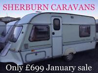 Abi jubilee 4 berth swift elddis Avondale caravan Must clear CAN DELIVER