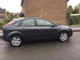 2007 Ford Focus, 12 months MOT, psh, 1.6 style, low mileage.