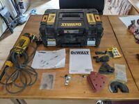 DeWalt Multi-tool, DWE315KT, 300w, 22k opm, original box, used but in very good condition
