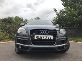 AUDI Q7 QUARTO S-LINE 7 SEATER VERY CLEAN CAR IN & OUT