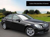 Mercedes-Benz C Class C200 CDI BLUEEFFICIENCY EXECUTIVE SE (black) 2014-01-09