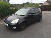 Diesel £30 tax 54 plate Ford Fiesta 5 door in black ,58mpg ,px welcome
