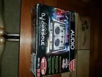 Portable USB dj console virtual