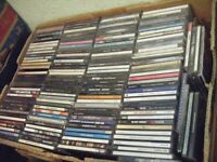 Approx 1,000 cd's (pop/some rock- but no classic rock etc - 7 boxes)