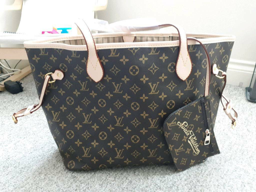 LV style MM Neverfull bag. Classic   in Southampton, Hampshire ... f4553dc4c9