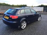 2008 Audi A3 2.0 TDI Sport 140(BHP) Low Miles 1 Previous Owner Full Service History! + Not Audi A4