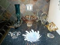 Vintage Murano Art Glass Collectibles
