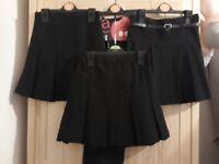Girls School Uniform, Black, Age 4-5 Years