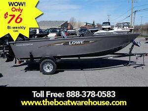 2016 lowe boats FM160 Pro Mercury 40HP Trailer Kingston Kingston Area image 1