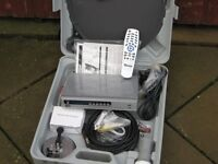 Portable Satellite System for camping/mobile home.