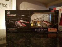 Two helicopters for sale only flown once