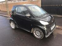 2010 10 SMART FORTWO PASSION AUTO PETROL ECO LIGHT DAMAGE SALVAGE REPAIRABLE CAT D
