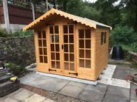 NEW High Quality, Heavy Duty 10x8 Summer Houses £979.00 (FREE DELIVERY AND FREE INSTALLATION)
