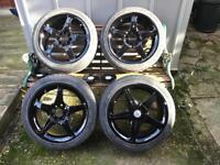 "Alloy Wheels 16"" 4x100-4x108 refurbished"
