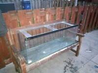 4 ft bare fishtank