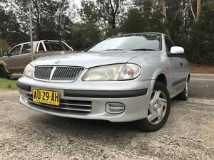 2001 Nissan Pulsar Dec LONG REGO 4 Cylinder MANUAL CHEAP Sporty Sutherland Sutherland Area Preview