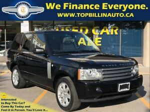2008 Land Rover Range Rover HSE Navigation, Sunroof, Leather