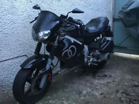 2002 Gilera DNA 125 needs work
